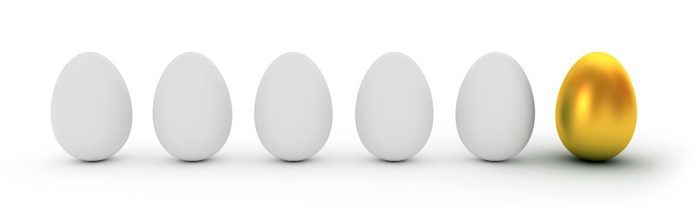 one different egg